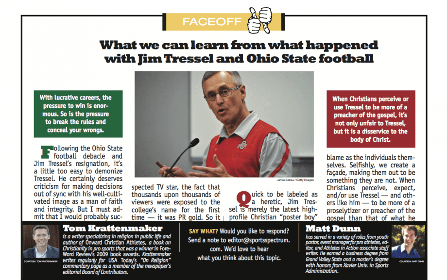 Jim Paredes Admits He S The Man In Scandal Video: Learning From The Jim Tressel/Ohio St. Scandal