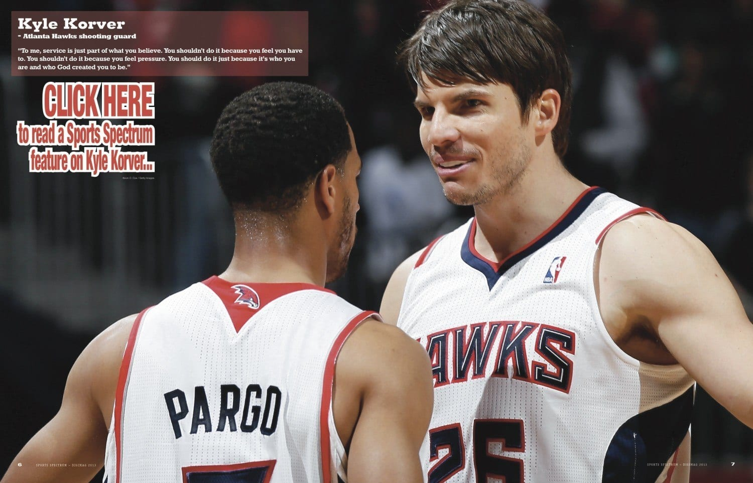 525418562 NBA Closeup - Kyle Korver - Sports Spectrum