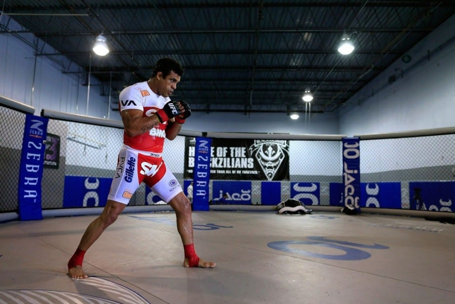 UFC 152: Vitor Belfort Open Workout