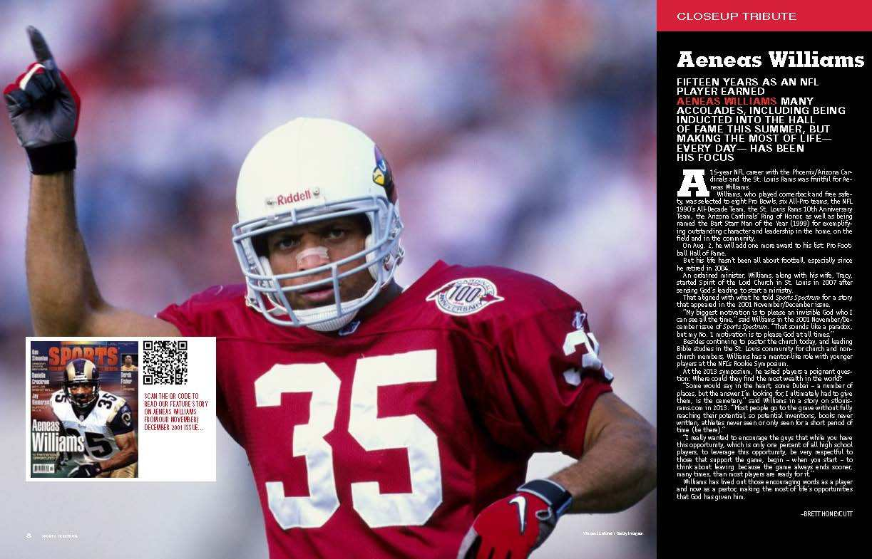 Aeneas Williams Spread