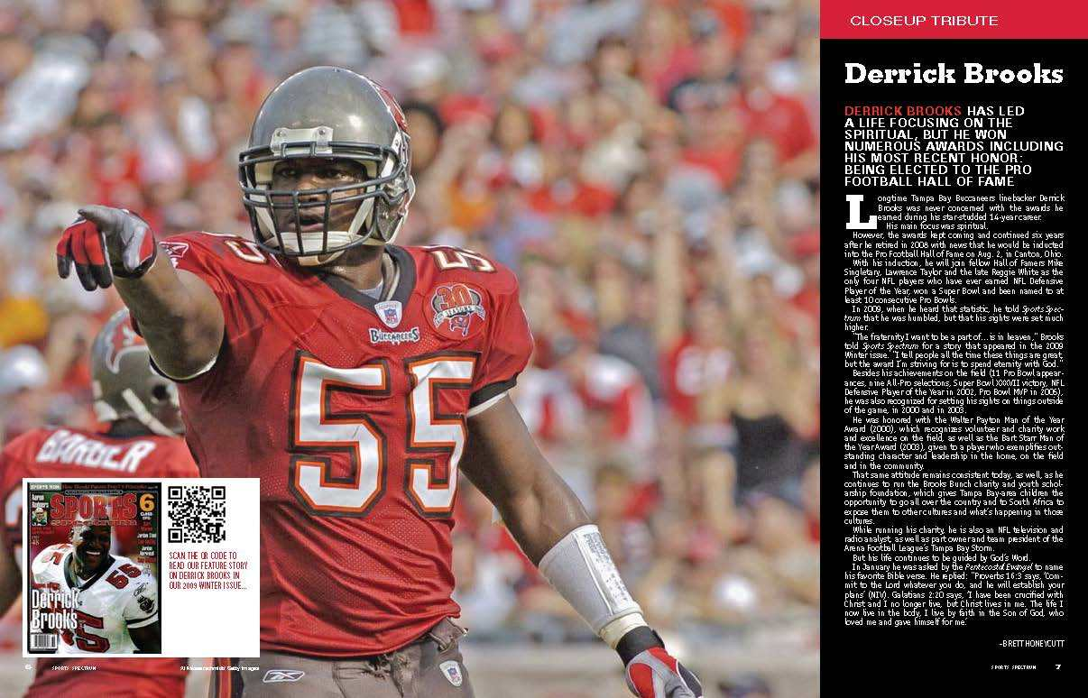 Derrick Brooks Spread