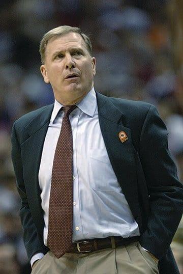 Head coach Dave Bliss