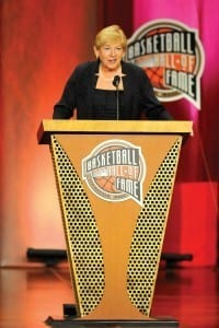 Sylvia Hatchell 2013 BHOF Induction 2