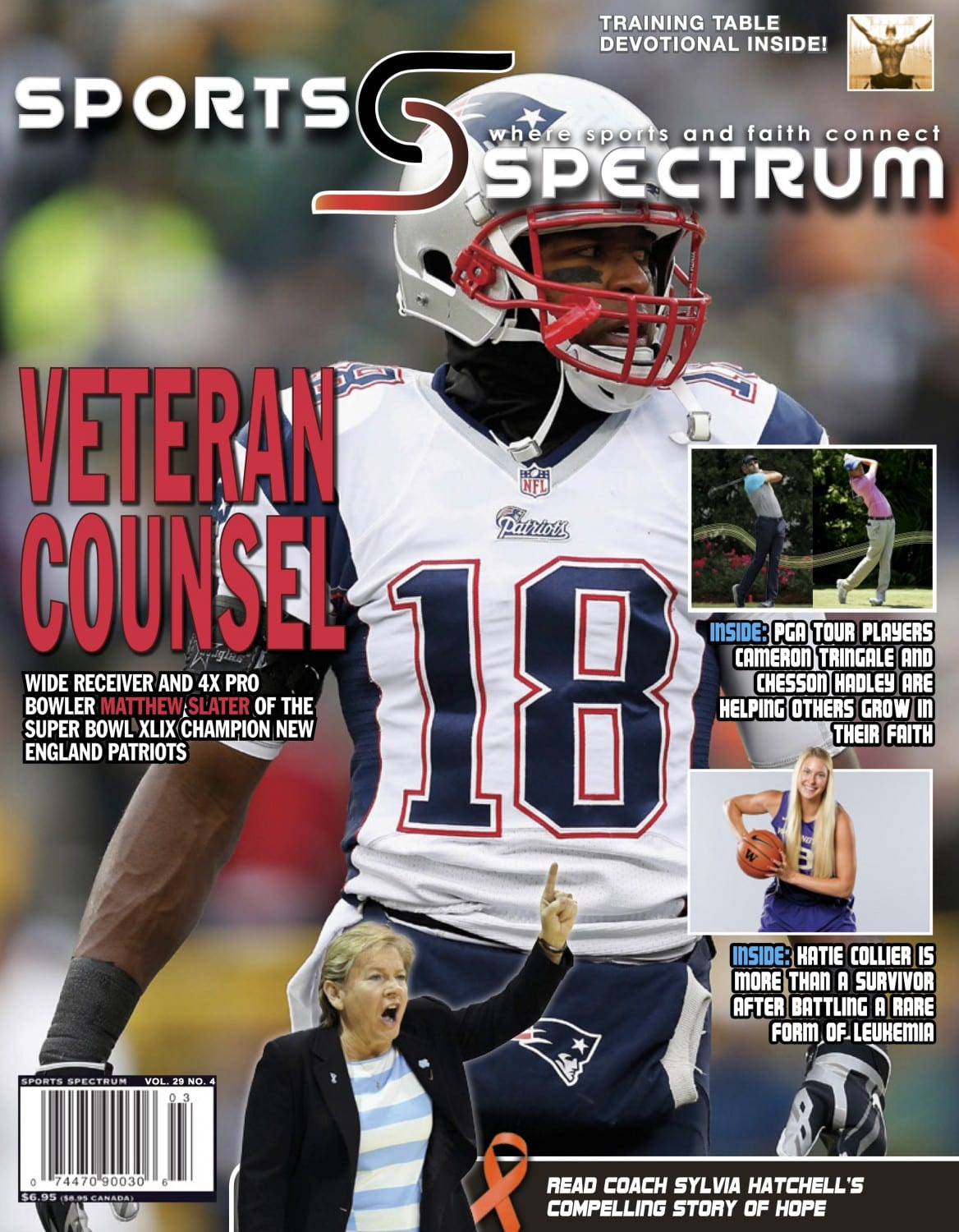 c22bf978c Veteran Counsel  Four-time Pro Bowler Matthew Slater is admired for ...