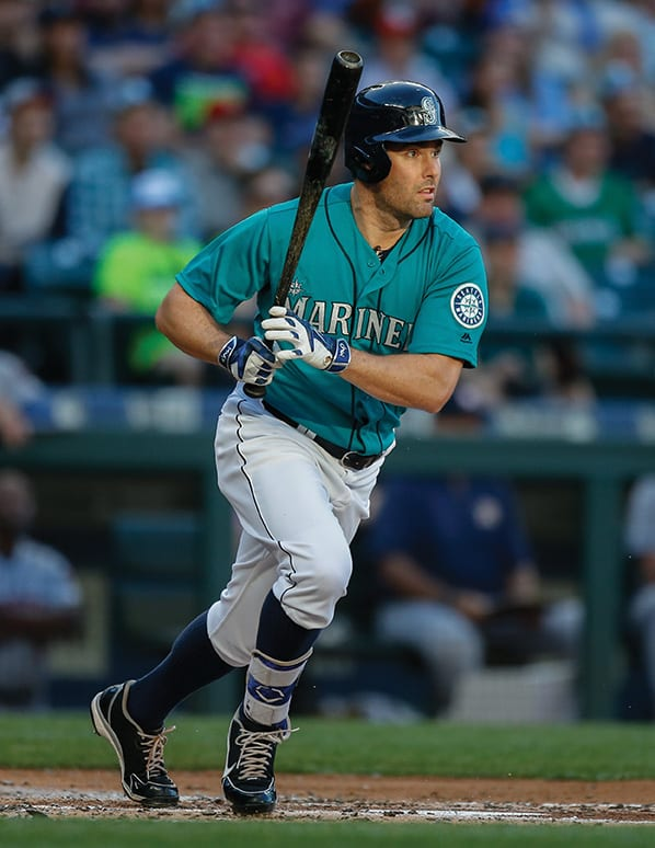 SEATTLE, WA - JULY 15: Seth Smith #7 of the Seattle Mariners bats against the Houston Astros at Safeco Field on July 15, 2016 in Seattle, Washington. (Photo by Otto Greule Jr/Getty Images)