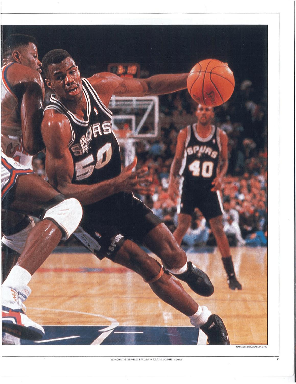watch d80ee f3b16 Throwback Thursday: May/June 1992, David Robinson - Sports ...