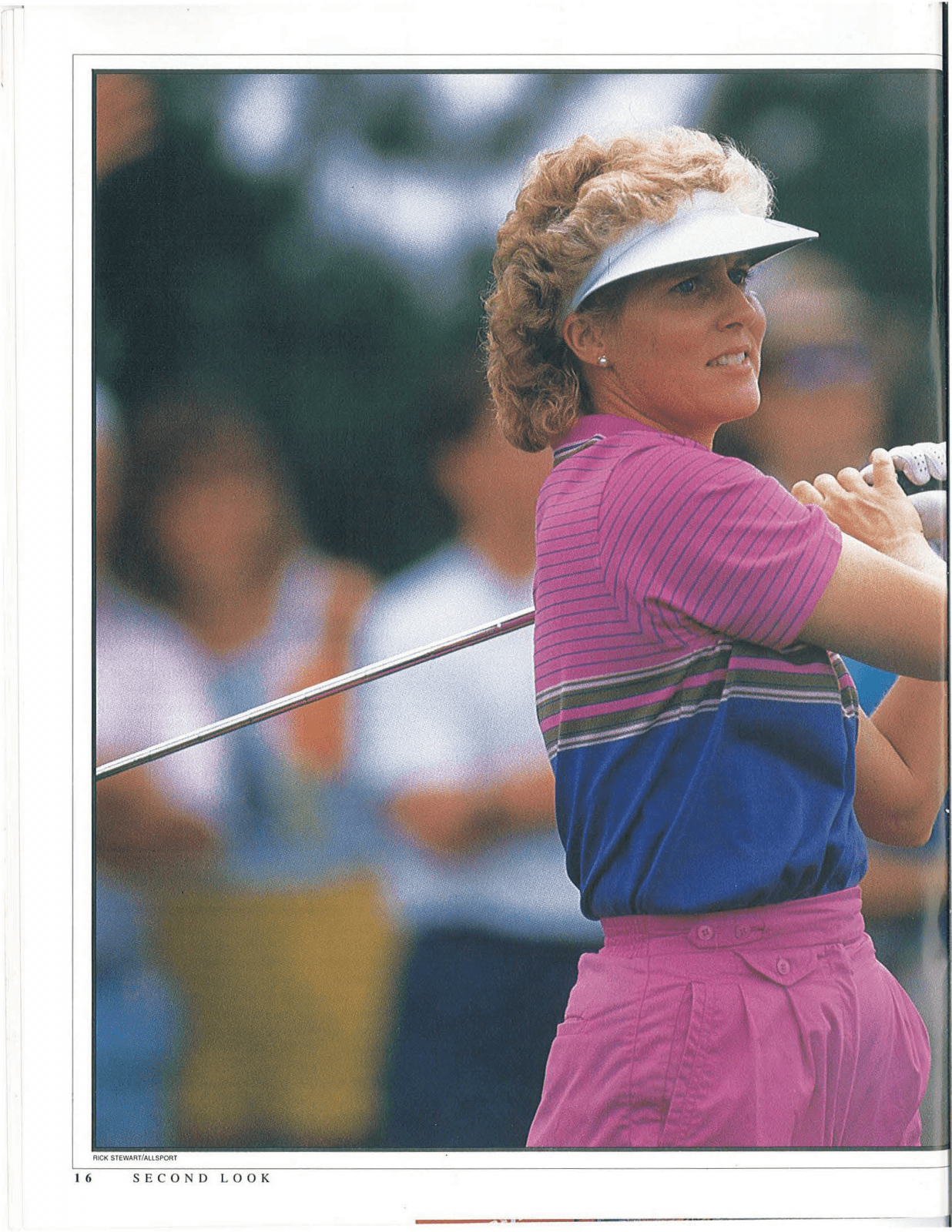 Two-time U.S. Women's Open and 34-time LPGA events winner Betsy King. / Sports  Spectrum