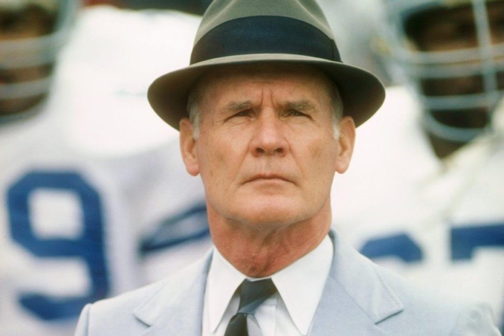 c989da52c4c Dallas Cowboys legendary head coach Tom Landry. Photo Courtesy  Twitter   DFWClinic