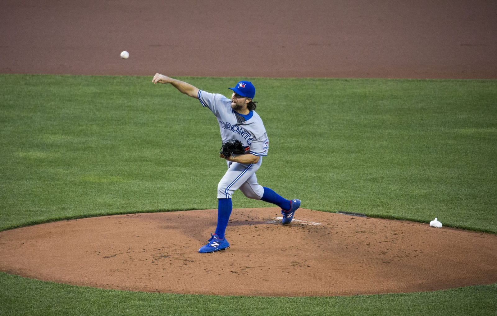 MLB pitcher R A  Dickey spending more time with family