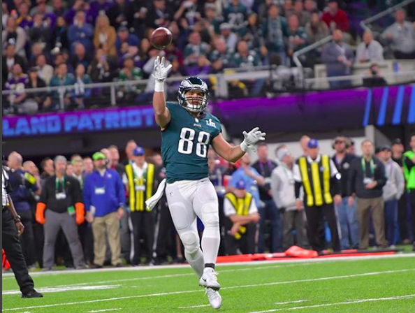 best sneakers 60350 721fe Philadelphia Eagles file claim to trademark 'Philly Special ...