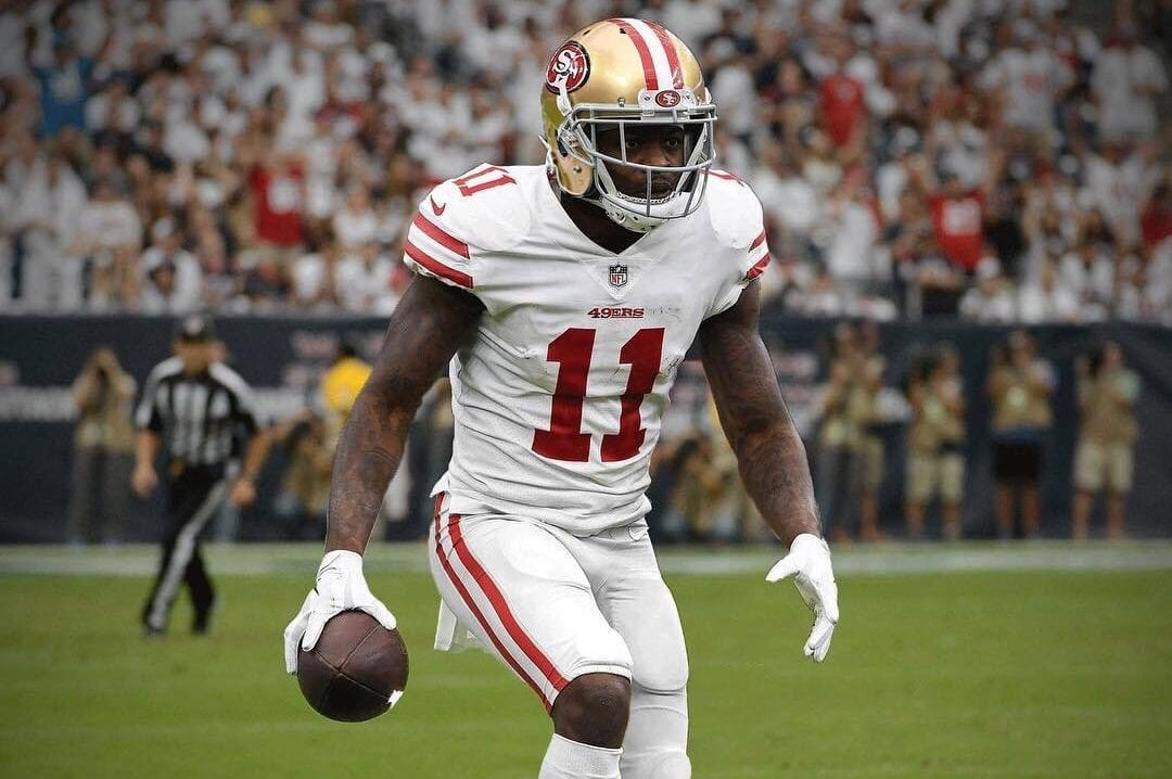 fa1d84d4125 49ers  Marquise Goodwin buys a new house for his mother and sister ...