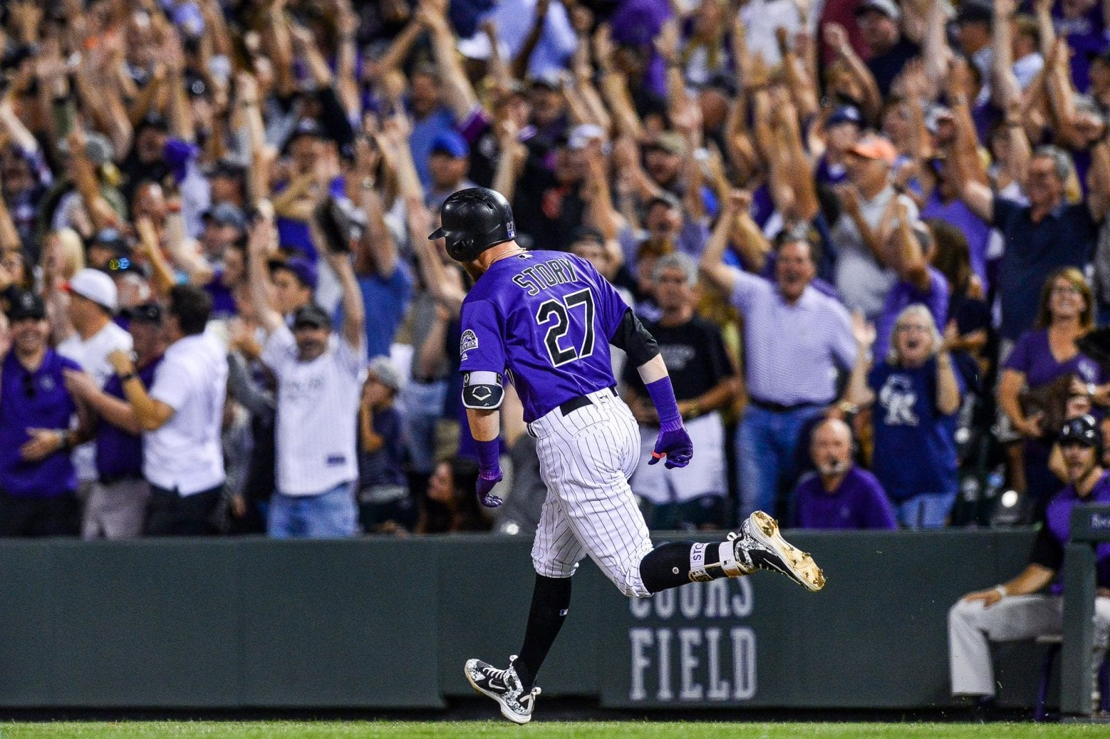 1cf3a12681d0 Rockies shortstop Trevor Story makes MLB history - Sports Spectrum