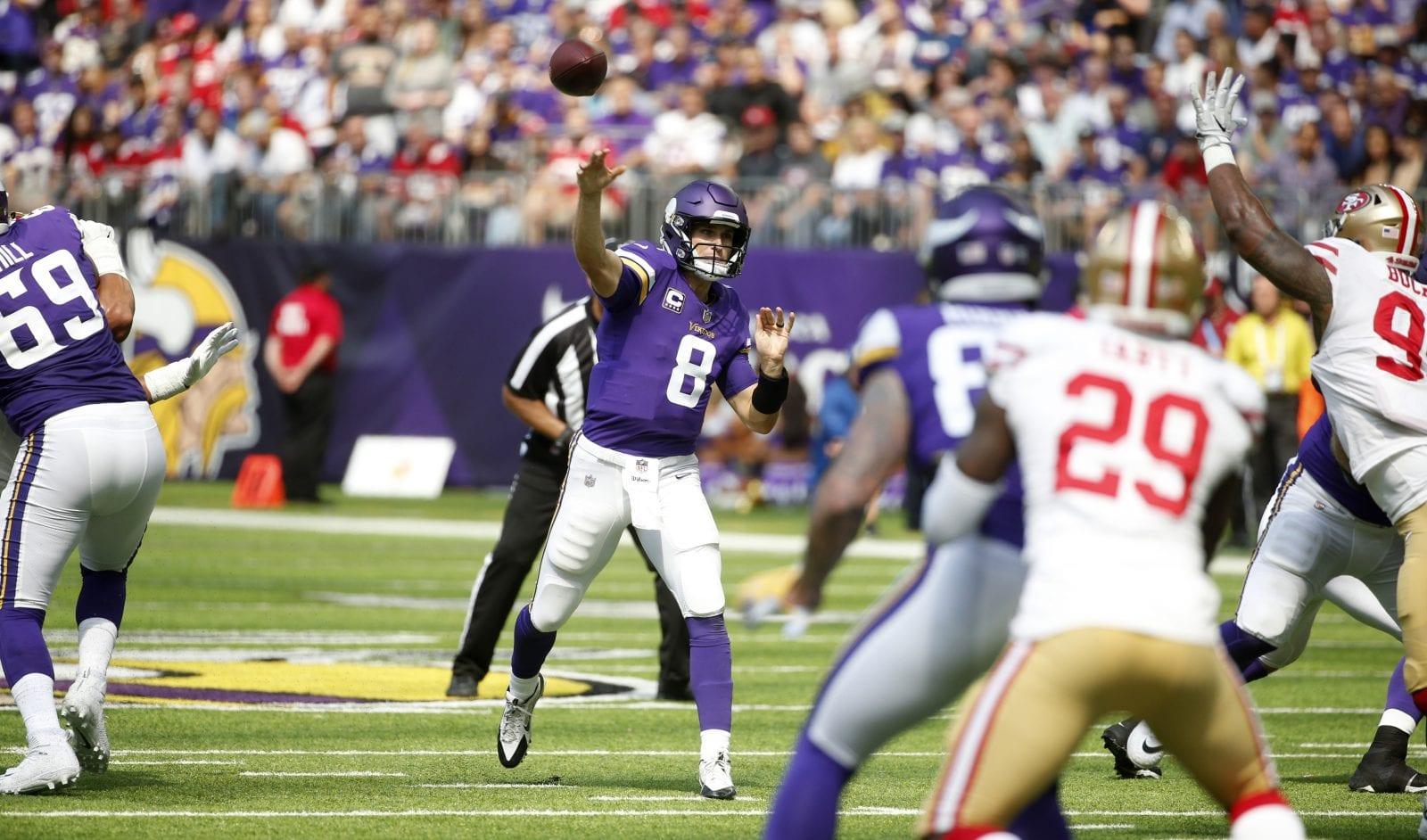 Case Keenum, Kirk Cousins star in Broncos, Vikings Week 1 wins - Sports Spectrum