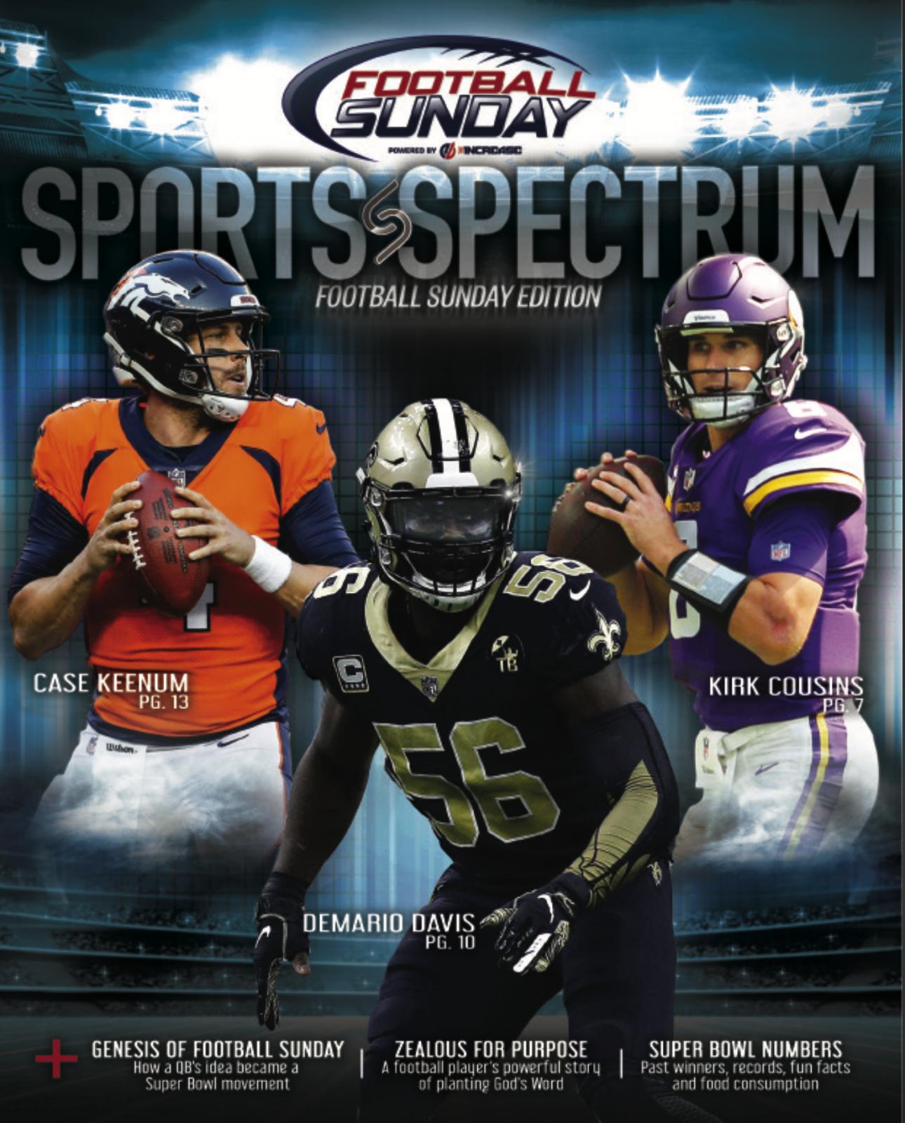Subscribe To Sports Spectrum Magazine
