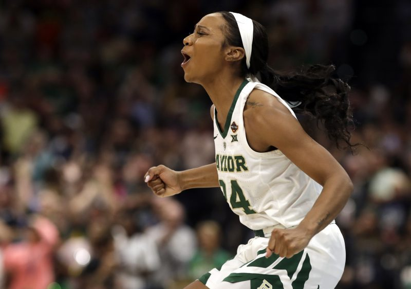 a5a1135d9f4 Baylor s Chloe Jackson points to God as she earns Most Outstanding Player  of Women s Final Four