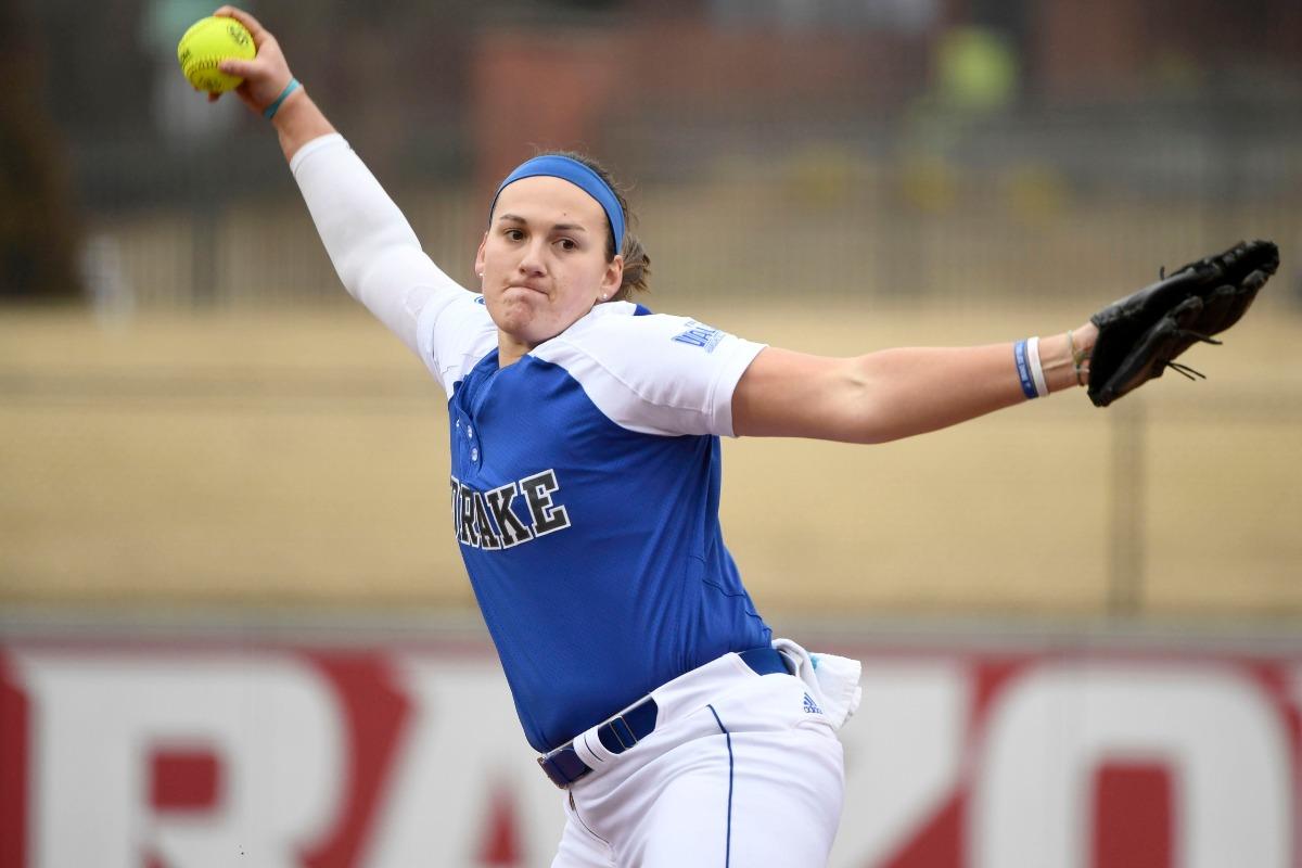 Nicole Newman Follows Christ, Leads Drake Softball Into