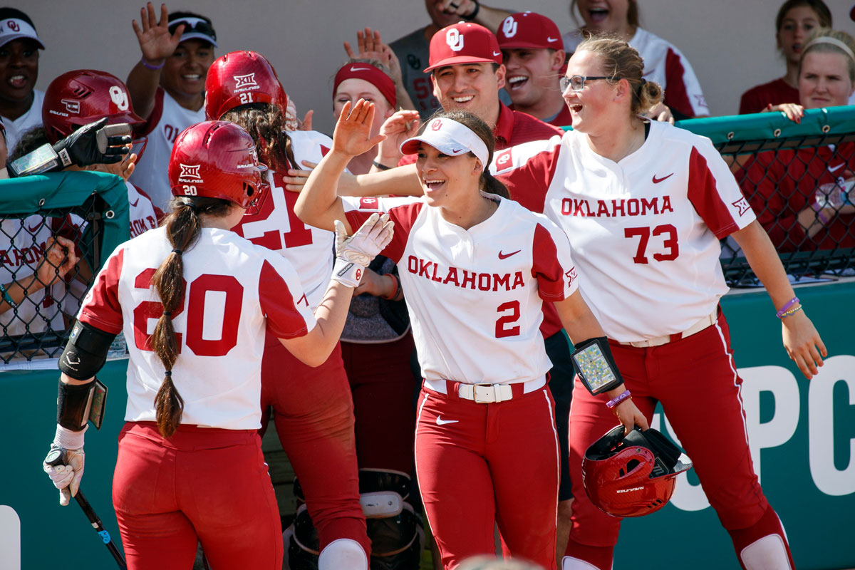 best service cd5c1 3c0d8 Top-seeded Oklahoma softball team finds strength in Christ ...
