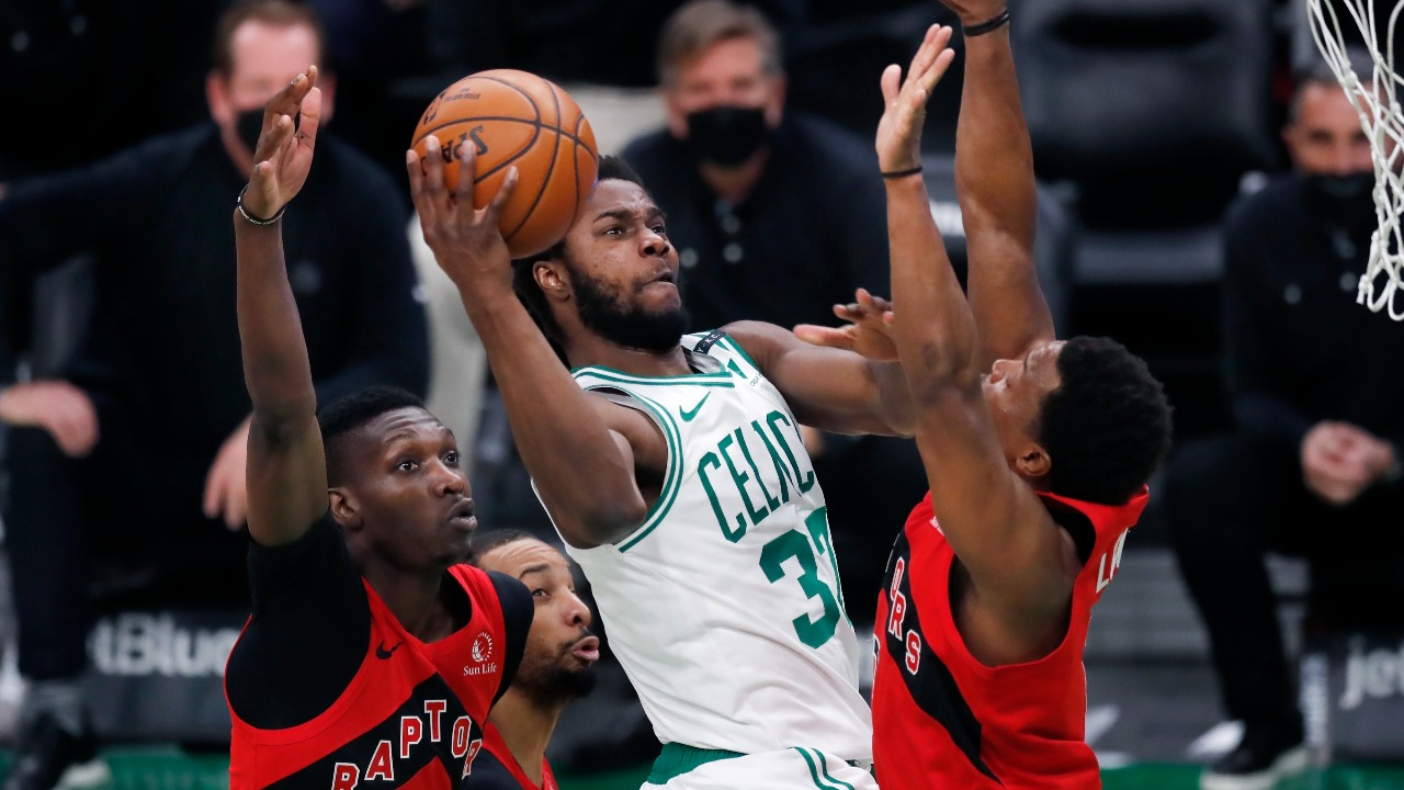 Boston Celtics' Forward Semi Ojeleye Says 'I Focus on Shooting the Ball, and God Takes Care of the Rest' After Career Game