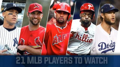21 MLB Players to Watch in 2021