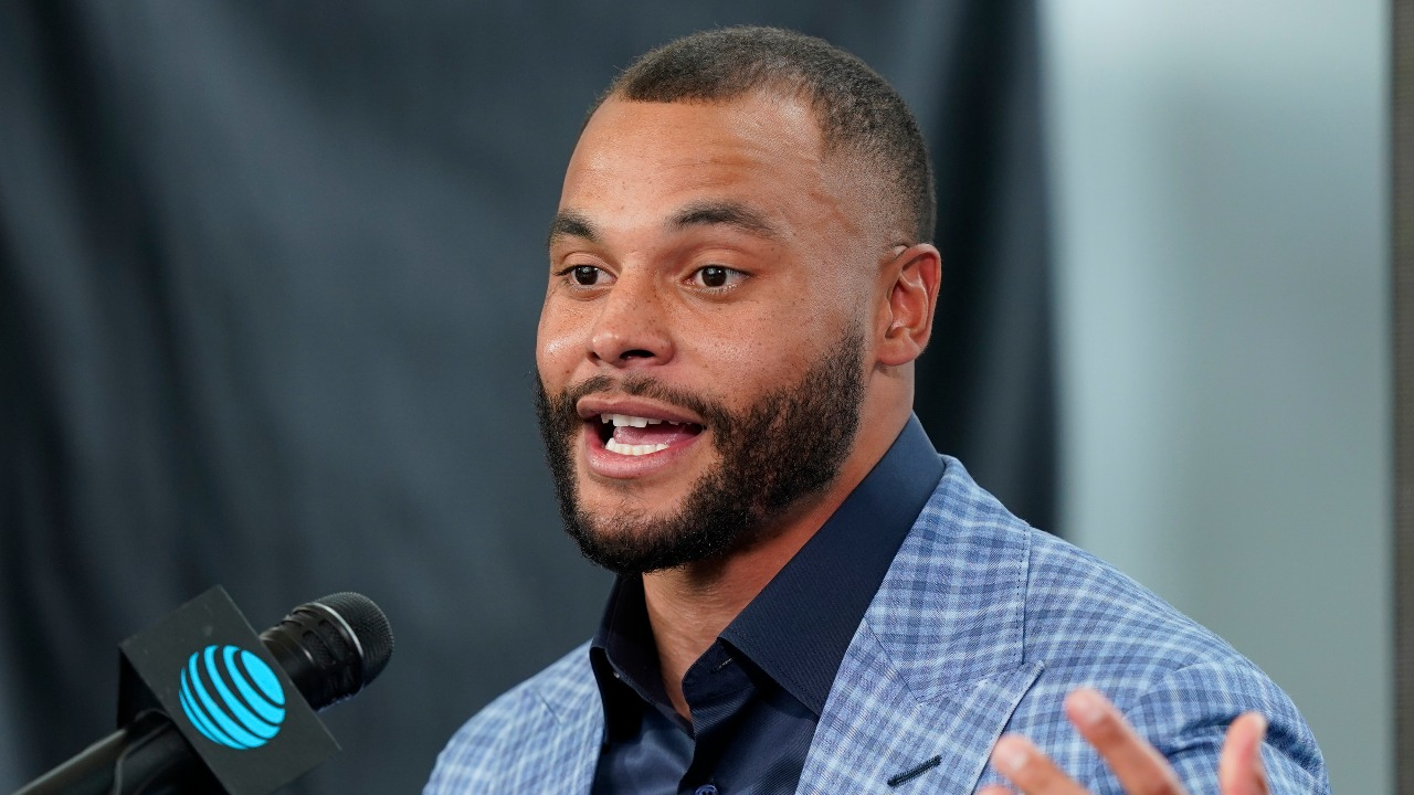 Dak Prescott Thanks God for Helping Him 'Overcome' Struggles in His Life After Signing New Contract With Dallas Cowboys
