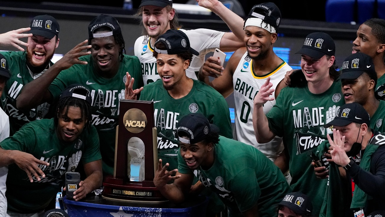 Baylor Senior MaCio Teague Says 'We're Here for God's Glory' After Team Advances to Final Four for First Time in 71 Years
