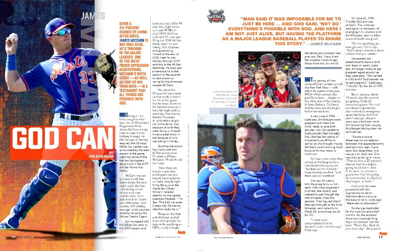 James McCann magazine